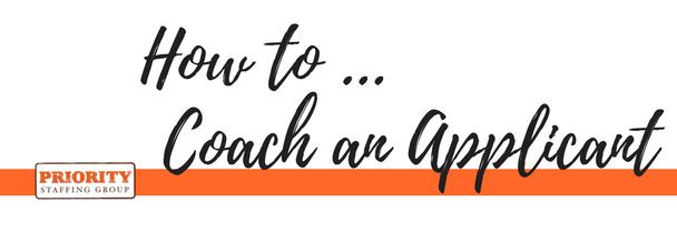 Applicant Coaching